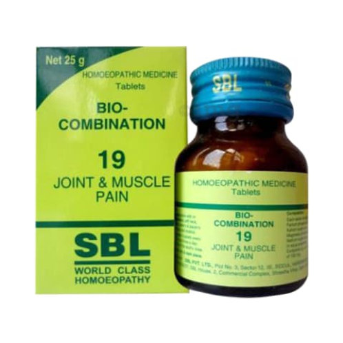 SBL Bio-combination 19 (Joint & muscle pain)