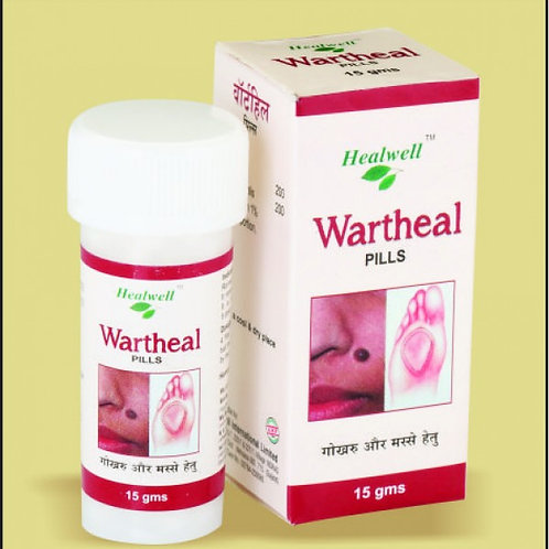 Healwell WARTHEAL Pills (For warts and corns)