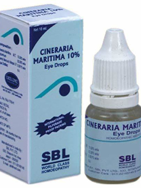 SBL Cineraria Maritima 10% Eye Drop