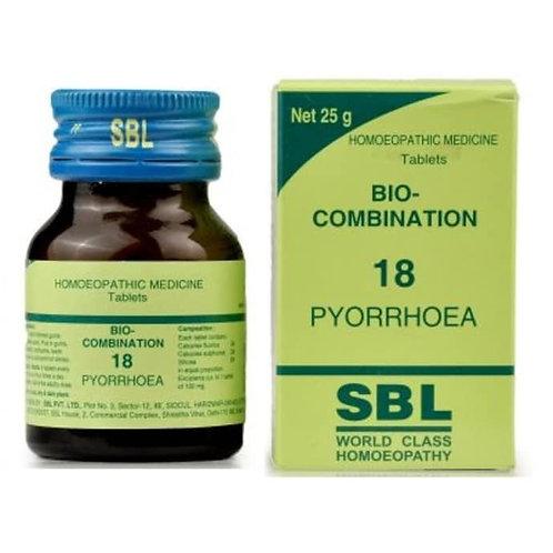 SBL Bio-combination 18 (PYORRHOEA)
