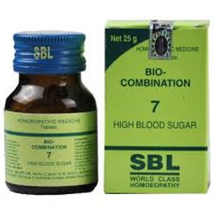 SBL Bio-combination 7 (high blood sugar)