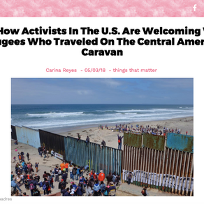 Comadres Cover the Central American Caravan for Fierce MiTú