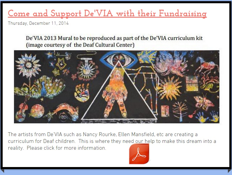 De'VIA Fundraising