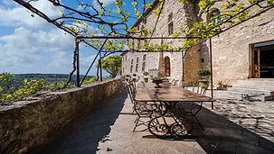 Visite virtuelle du magnifique château de la roque sur Prenes
