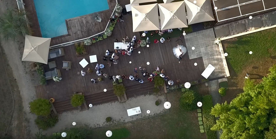 mariage drone