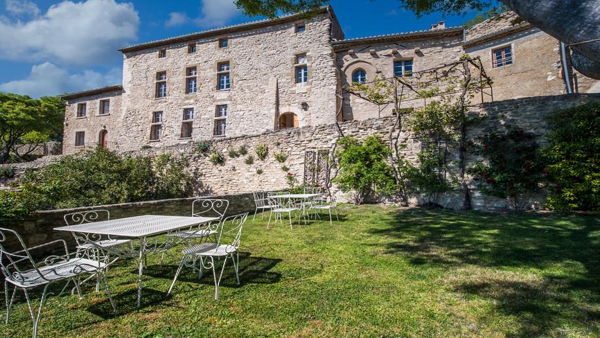 Château de La roque sur pernes