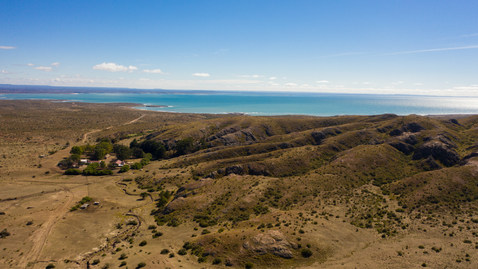 Photo drone Patagonie