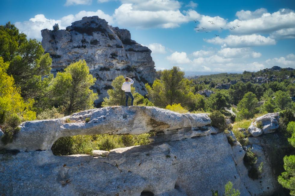 Tournage en Provence