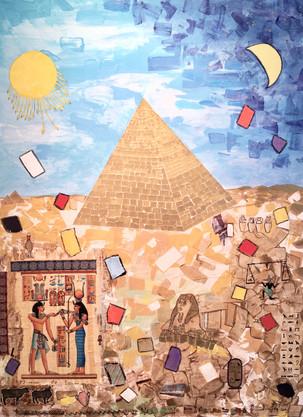 Les pyramides de lumière