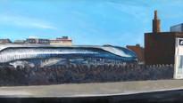 Newport railway station from Bridge Street