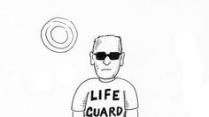 Lifeguard with assault rifle