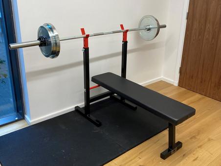 London Office Gym Set Up