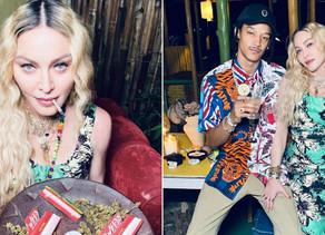 People :Madonna fête son 62e anniversaire en Jamaïque: elle fume de la marijuana