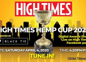 Event :High Times Cannabis Cups devient virtuel après la pandémie de coronavirus