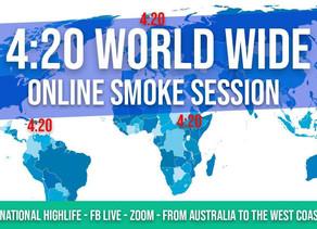 Event :420 n'est pas annulé - Faites partie du plus grand Sesh Smoke en ligne au monde