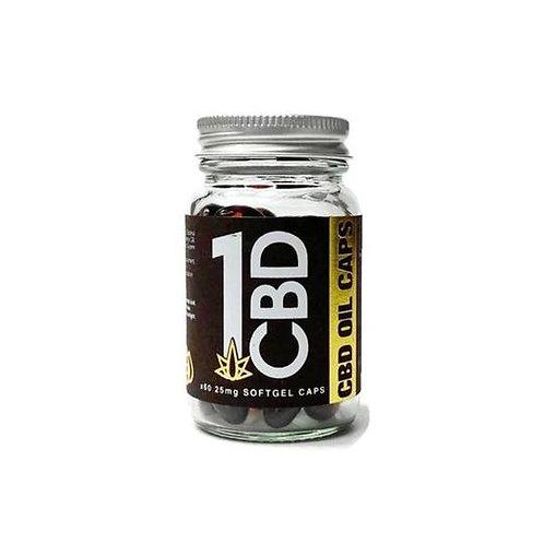 1CB Soft Gel Capsules 25 mgs 10 mgs  60 capsules