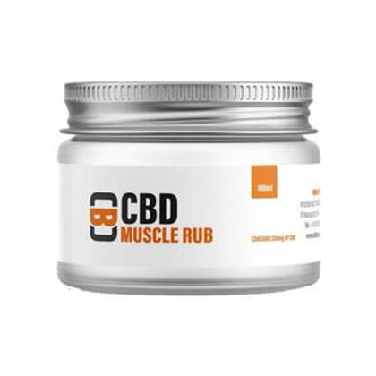 CBD Asylum 200mg 100ml Baume à friction musculaire