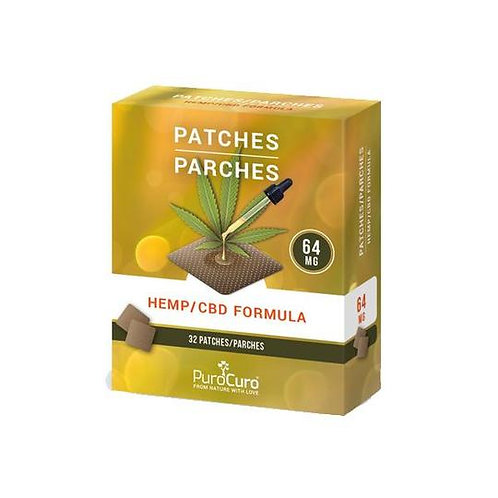 PuroCuro 64mg Formula Patches