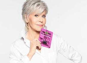 People :Jane fonda ambassadrice de produits cosmetiques a base de CBD
