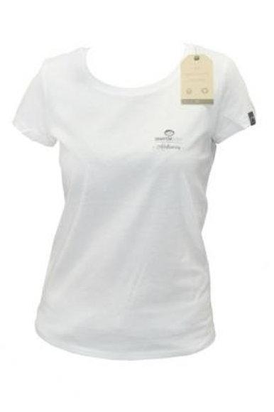 T-shirt Fille Autofloraison Blanc