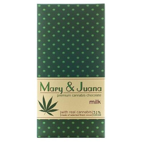 Chocolat au lait Euphoria Mary & Juana
