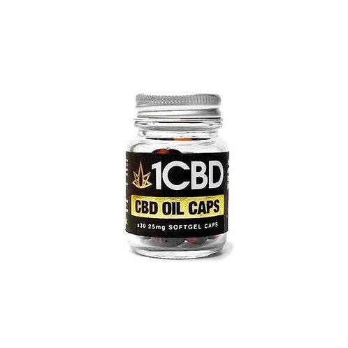 1CB Soft Gel Capsules 25 mgs 10 mgs  30 capsules