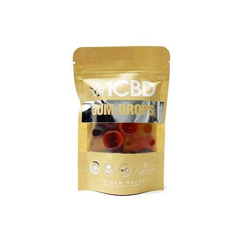 1 Pure hemp  fruits aromatisés Gum Drops 300mg