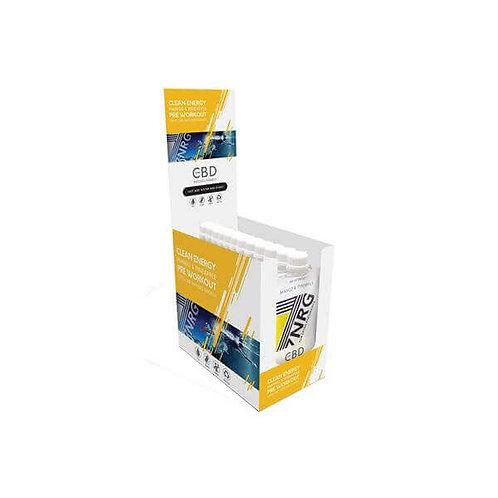 12 x 7NRG Shake Énergisant Pré-entraînement Mangue et ananas 12 mg