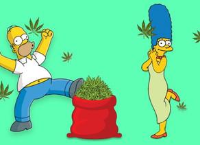 Video :Marge et homer vendent du cannabis legal dans l'episode 17 de la saison 31