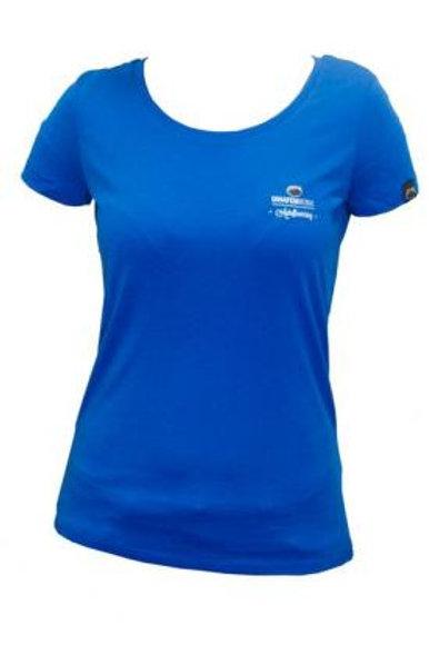 T-shirt Fille Autofloraison Bleu