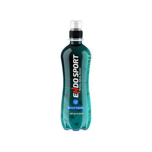 12 x Boisson Isotonique pour Sportifs 500 ml CBD 10 mg Endo Sport – Orange
