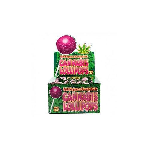 Sucette bubble gum /Candy kush
