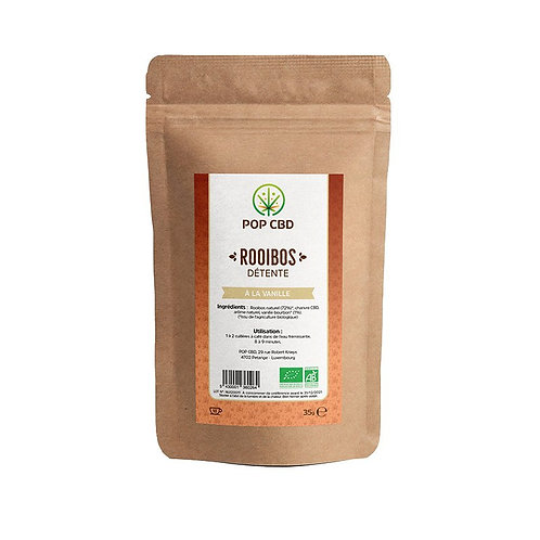 INFUSION CHANVRE ROOIBOS A LA VANILLE