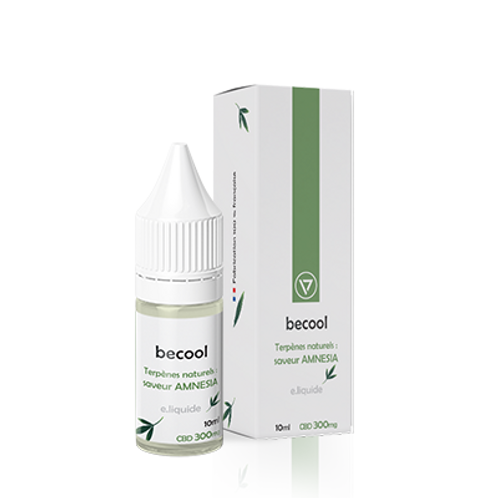 Becool e-liquide arôme Amnesia 300mg isolat pure