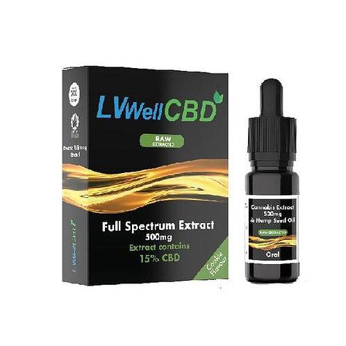 LVWell 10 ml d'huile de chanvre brute