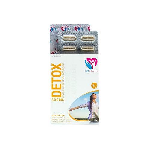 Canabidol 300mg  Oral Capsules 30 Caps - Detox