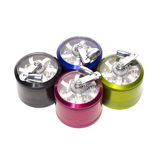 Aluminum Grinder 50mm with mill