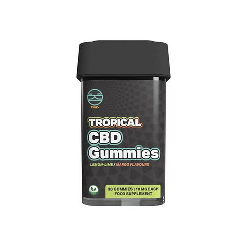 Zoetic 300mg Chill Gummies -Tropical