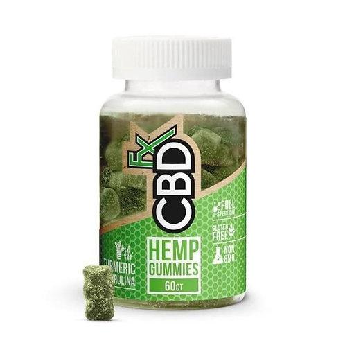 CBDFX Gummies avec le safran des indes & de la Spiruline – Antioxydant