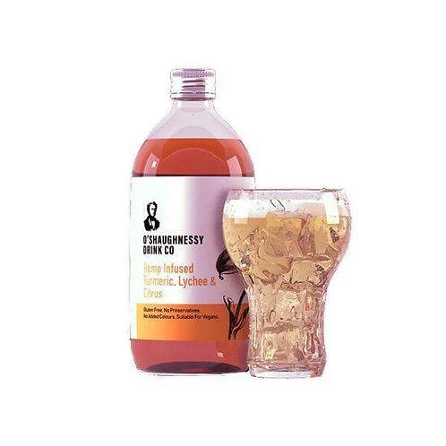 Sirop de Curcuma, Lychee et Agrumes – O'Shaughnessy – 500 ml