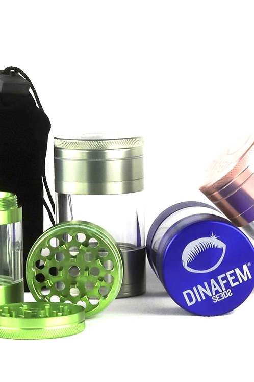 Grinder en aluminium Kenstar Dinafem 4 parties