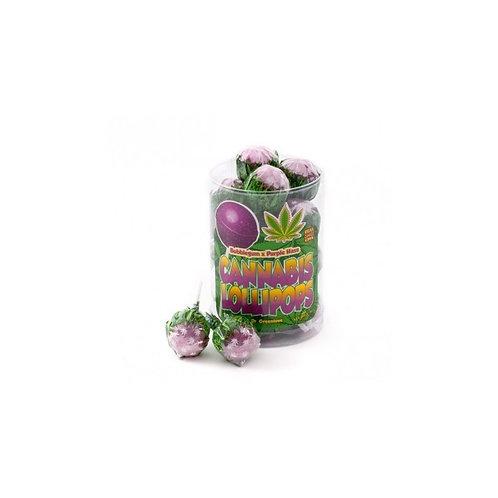 Sucette Bubble gum / Purple haze