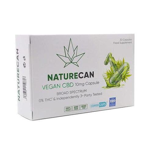 Végétalien de 10 mgs de Naturecan capsules- 30 capsules