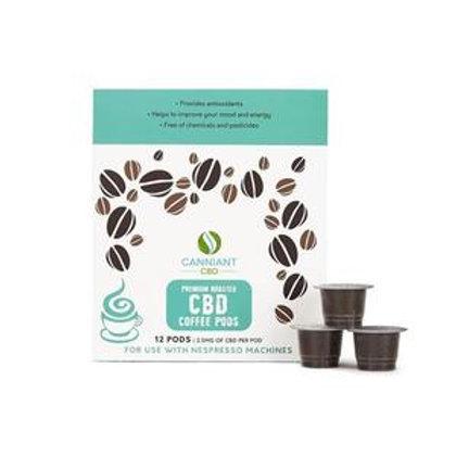Canniant 30mg Nespresso Coffee Pods - Pack de 12