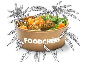 Cuisine :FOODCHÉRI LANCE UN MENU AU CBD