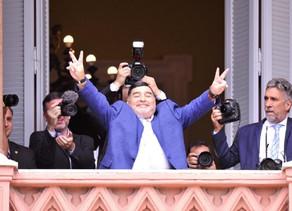People :Maradona a soutien l'auto-culture du cannabis à usage médical