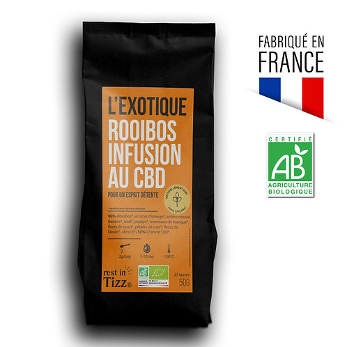 ROOIBOS BIO INFUSION L'EXOTIQUE