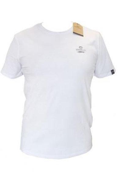 T-shirt petit logo blanc