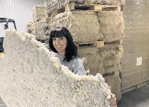 Business :Un matelas de chanvre biodégradable fabriqué au Québec