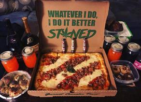 """Cuisine :A L.A,"""" Stoned pizza """", elle contiendra 320 milligrammes de THC au total"""